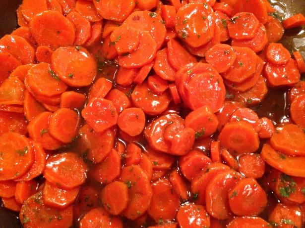 Kahlua-Glazed Carrots